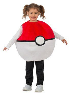 Pokmon Pokeball Child Costume
