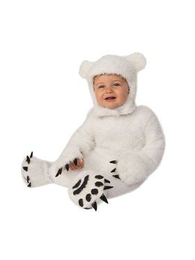 Polar Bear Cub Child Costume