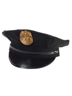 Police Chief Hat Child