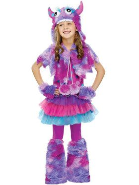 Polka Dot Monster Child Costume
