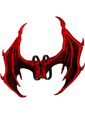 Adult Poly Foam Demon Wings