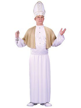Pope Men's Costume