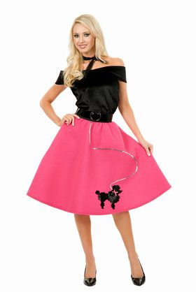 Poodle Skirt Adult Costume