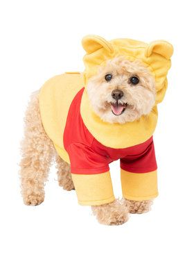 Pooh Costume For Pets