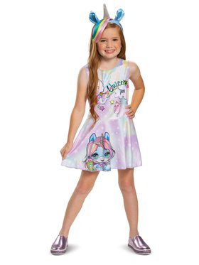 Poopsie Unicorn Dazzle Darling Classic Child Costume