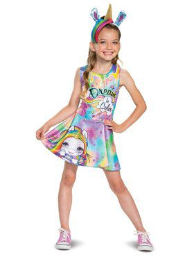 Poopsie Unicorn Rainbow Brightstar Classic Child Costume