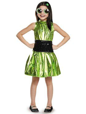 Power Puff Girls Buttercup Deluxe Costume