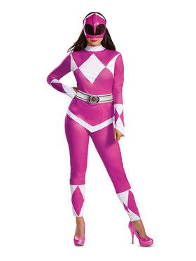 Adult Mighty Morphin Pink Power Ranger Costume
