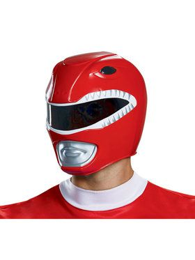 Adult Mighty Morphin Red Power Ranger Helmet