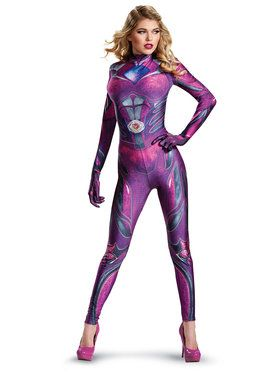 Power Rangers: Pink Ranger Bodysuit Adult Costume