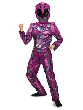 Power Rangers: Pink Ranger Deluxe Child Costume