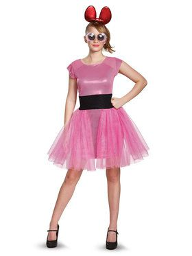 Powerpuff Girls Blossom Deluxe Teen Costume Teen