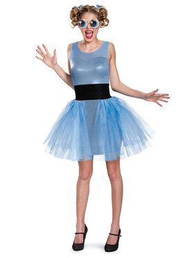 Powerpuff Girls Bubbles Deluxe Teen Costume Teen