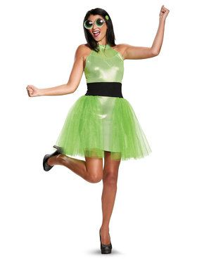 Powerpuff Girls Buttercup Deluxe Adult Costume