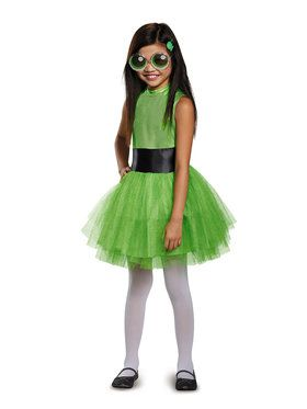 Powerpuff Girls Buttercup Tutu Deluxe Child Costume