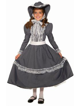 Prairie Girl Child Costume
