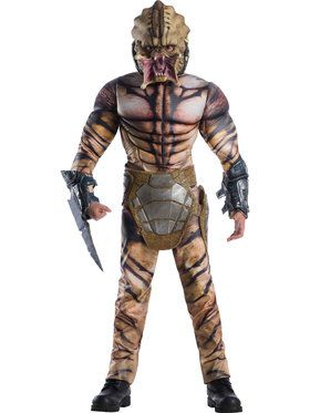 Predator Deluxe Child Costume  sc 1 st  BuyCostumes.com & Space Alien and Astronaut Costumes - Adults and Kids Halloween ...