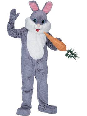 Premium Rabbit Grey Costume