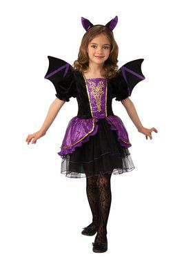 Pretty Bat Girl's Costume