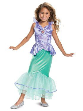 Diy Halloween Costumes For Girls Age 11 13.Princess Ariel Classic Toddler Costume