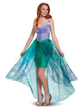 Princess Ariel Deluxe Adult Costume