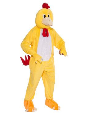 Promo Chicken Mascot Adult Costume