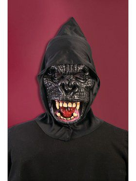 Hooded Gorilla Mask