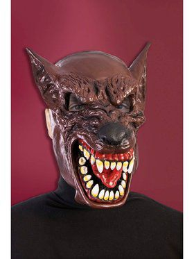 Hooded Wolf Mask