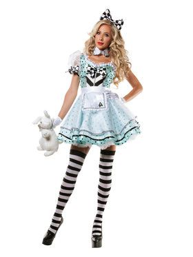 Psychadelic Alice Adult Costume