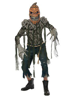 Pumpkin Creature Men's Costume
