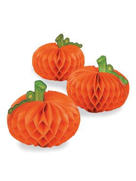 Pumpkin Decorations (6pcs) (6)