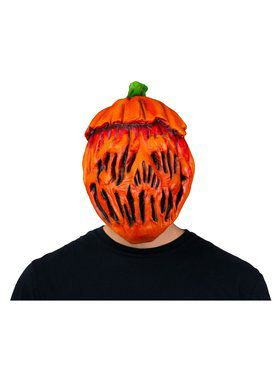Pumpkin Head Mask
