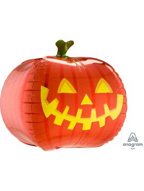 "Pumpkin Ultra Shape 18"" Balloon (1)"