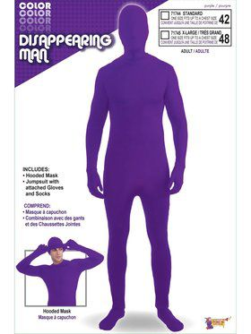 Purple Adult Skinsuit