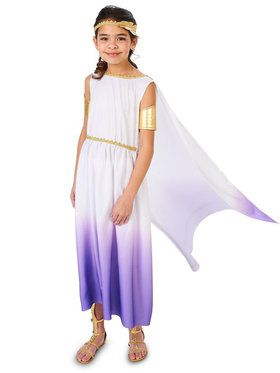Purple Passion Greek Goddess Child Costume