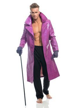 Purple Snakeskin Jacket