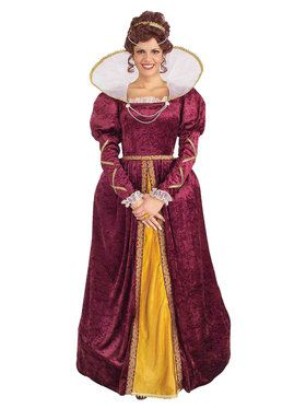 Queen Elizabeth Adult Costume