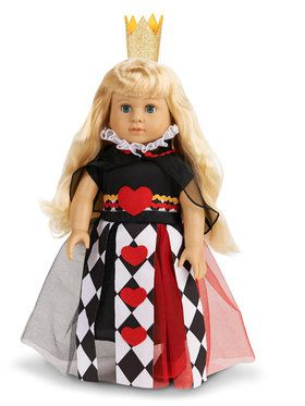 "Queen of Hearts 18"" Doll Costume"