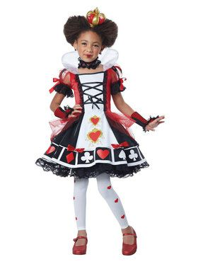 Red Queen Child Costume