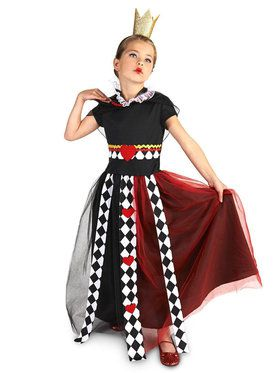 Queen of Hearts Child Costume  sc 1 st  BuyCostumes.com & Alice in Wonderland Costumes - Halloween Costumes | BuyCostumes.com