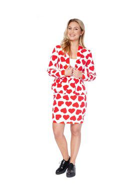 Queen of Hearts Women's Opposuit