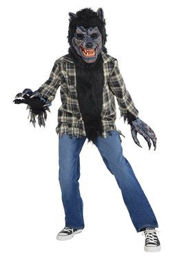 Child Rabid Werewolf Costume