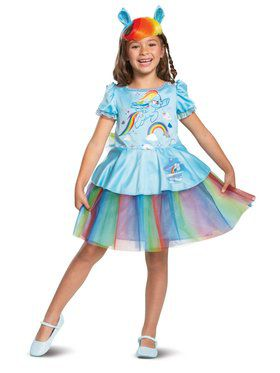 Rainbow Dash Tutu Deluxe Toddler Costume