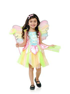 Rainbow Princess Fairy - Toddler Child Costume