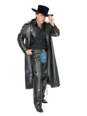 Range Rider - Leather Adult Costume
