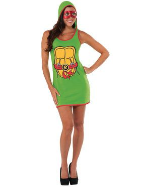 Hooded Tank Dress Women's Raphael Costume