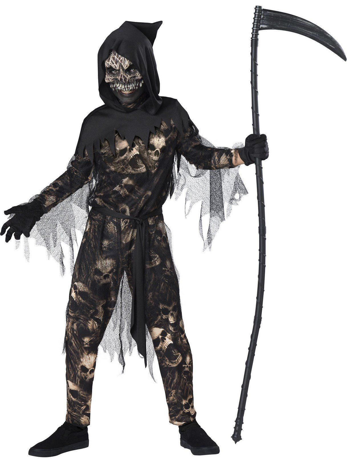 Boys Reaper Scary Costumes