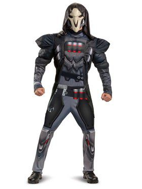 Reaper Muscle Teen Costume