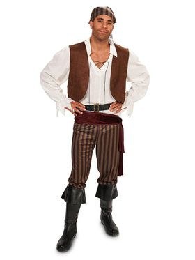 Rebel Pirate Adult Male Costume