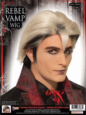 Rebel Vamp Male Wig